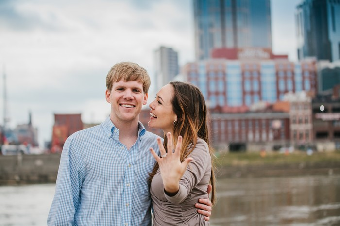 Image 9 of Christian and Andrew's Sentimental Proposal in Nashville