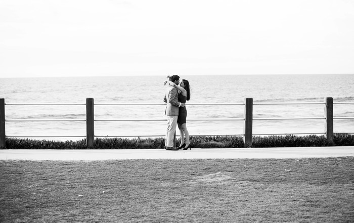 Image 2 of Khushbu and Mehul's Proposal in La Jolla