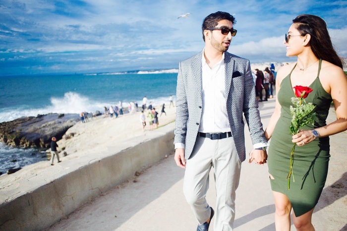 Image 3 of Khushbu and Mehul's Proposal in La Jolla