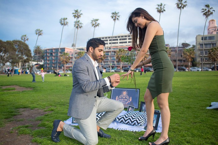 Image 8 of Khushbu and Mehul's Proposal in La Jolla