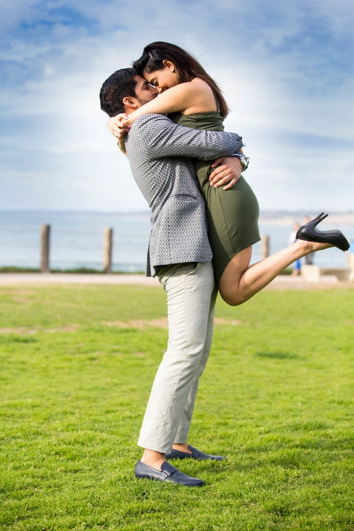 Image 9 of Khushbu and Mehul's Proposal in La Jolla