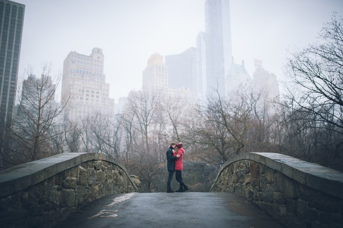 Image 8 of Marek and Anja's Dreamy Central Park Proposal