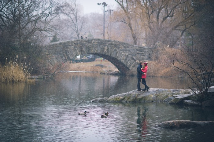 Image 9 of Marek and Anja's Dreamy Central Park Proposal