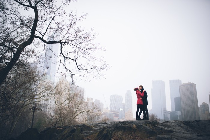 Image 2 of Marek and Anja's Dreamy Central Park Proposal