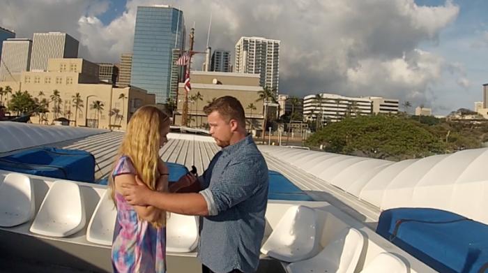 Proposal in Hawaii (2)