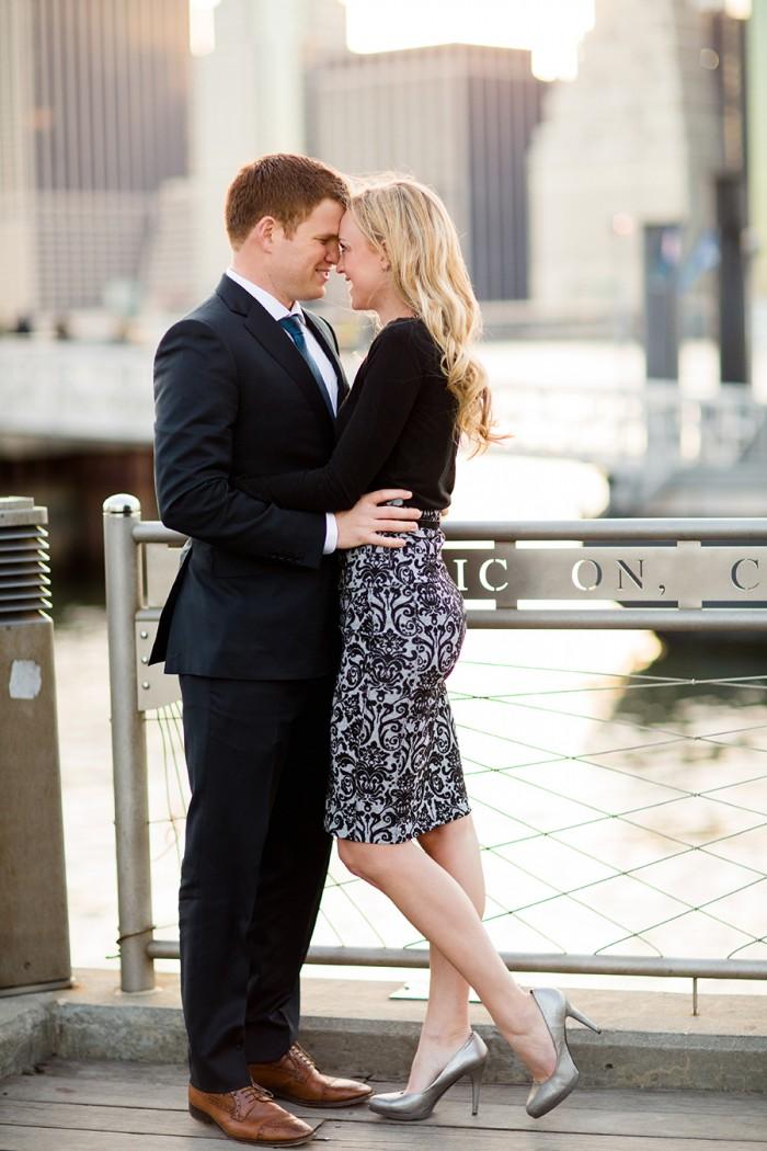 Marriage Proposal Under the Brooklyn Bridge