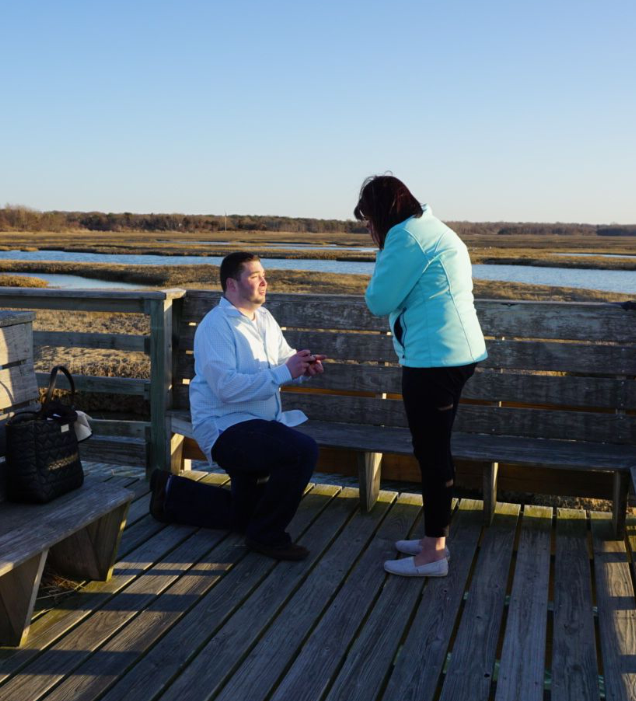 Erin's Proposal in Yarmouthport, MA