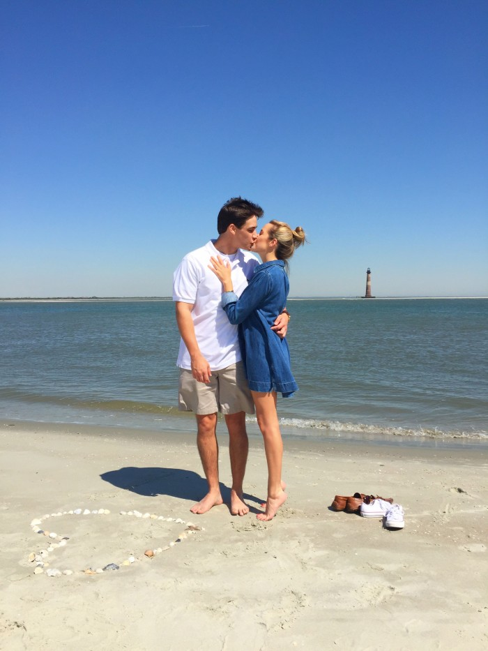 Adorable Proposal in Charleston