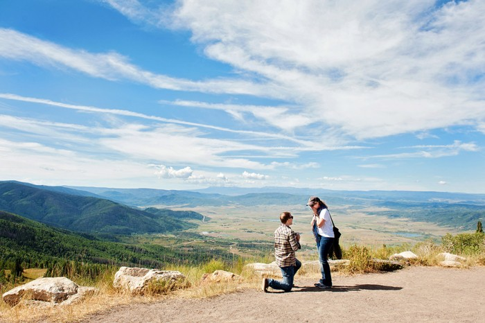 Image 5 of Ryan and Lizzie's Marriage Proposal in Steamboat Springs