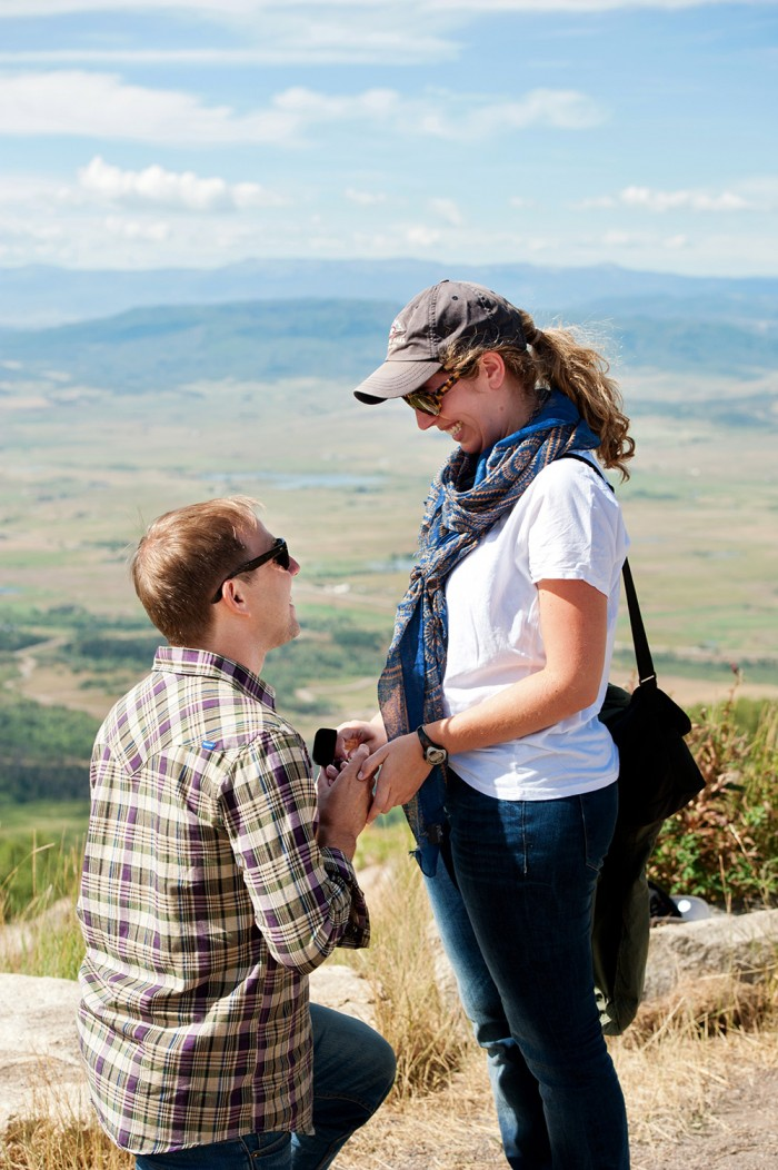 Image 6 of Ryan and Lizzie's Marriage Proposal in Steamboat Springs