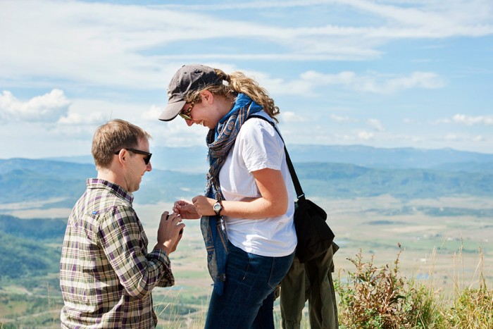 Image 8 of Ryan and Lizzie's Marriage Proposal in Steamboat Springs
