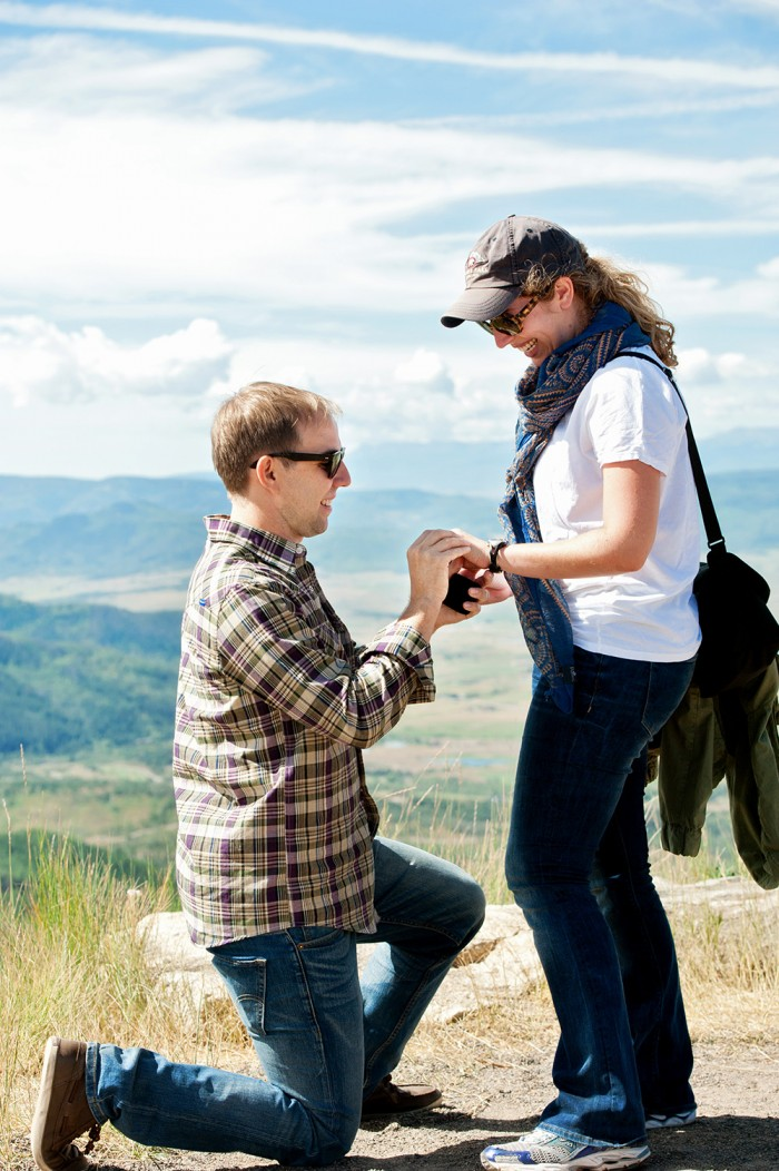Image 7 of Ryan and Lizzie's Marriage Proposal in Steamboat Springs