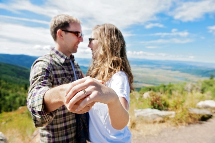 Image 11 of Ryan and Lizzie's Marriage Proposal in Steamboat Springs