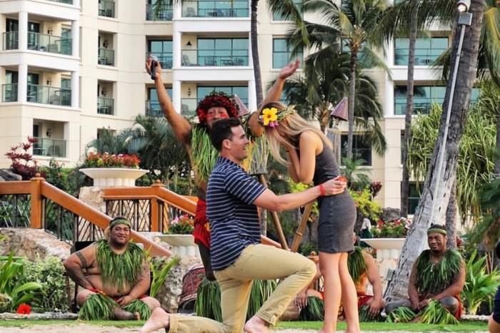 marriage Proposal in Oahu