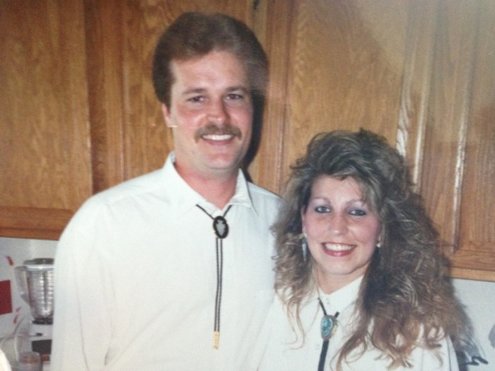 Dave and I 1988 newlyweds
