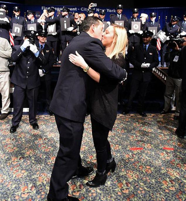 Image 4 of Shane and Corinne's FDNY EMT Graduation Proposal