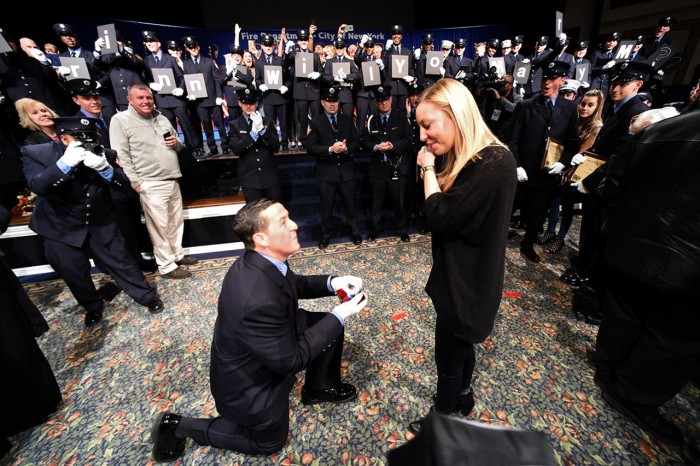 Image 3 of Shane and Corinne's FDNY EMT Graduation Proposal