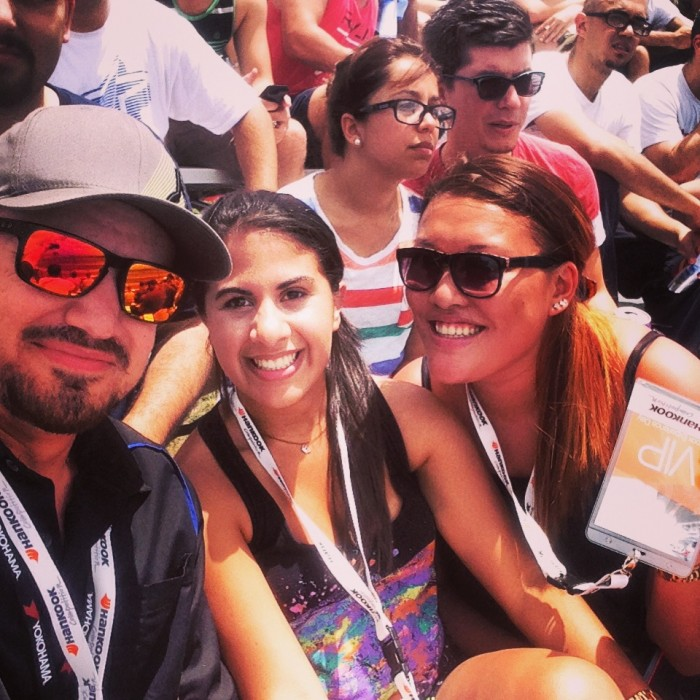 Jonathan, me & Chrissy