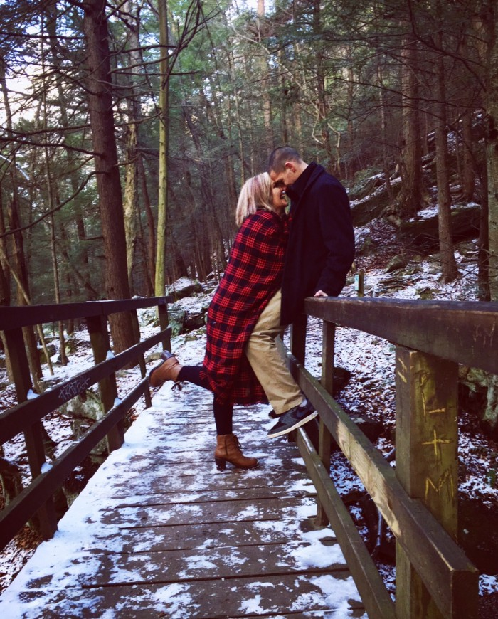 Where to Propose in McConnell's Mills State Park ( our first date)