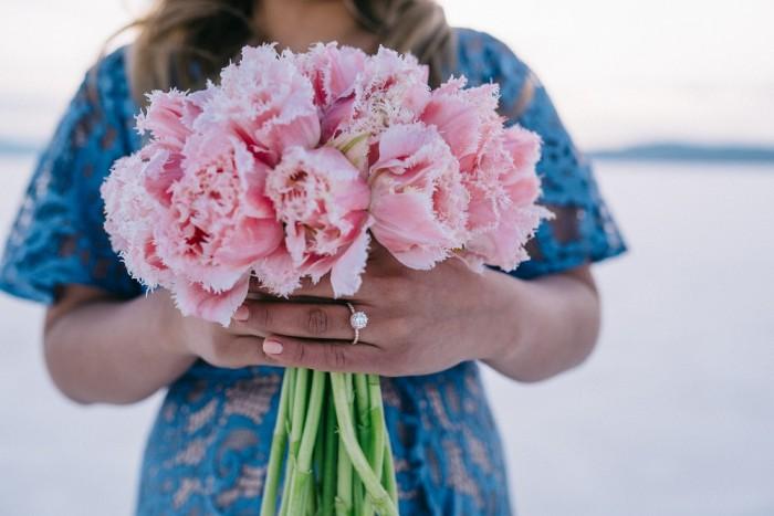 Image 8 of Nathalie and Morgan's Beautiful Proposal at the Salt Flats