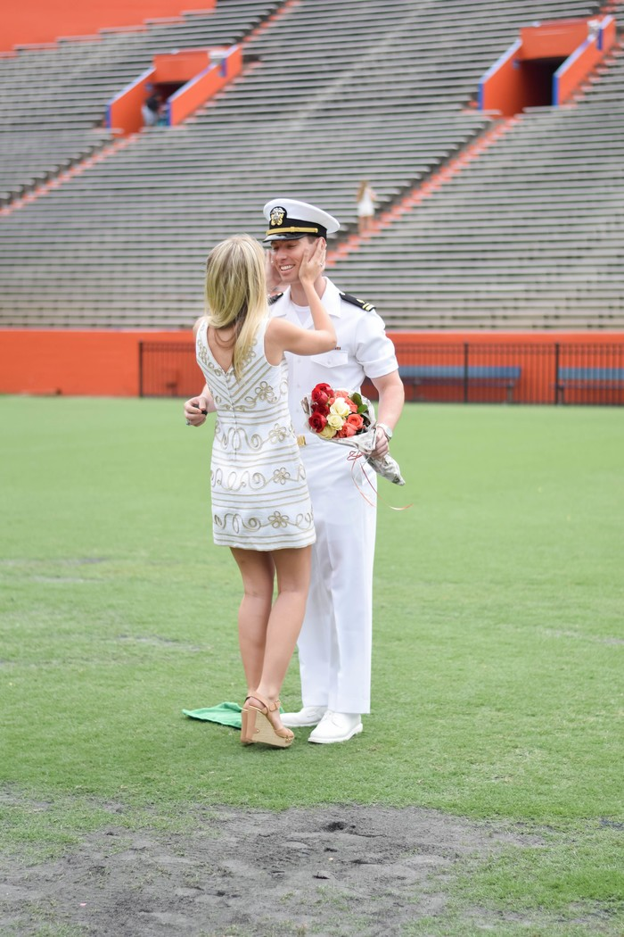 Image 5 of Samantha and Maxwell's Proposal on the UF Football Field