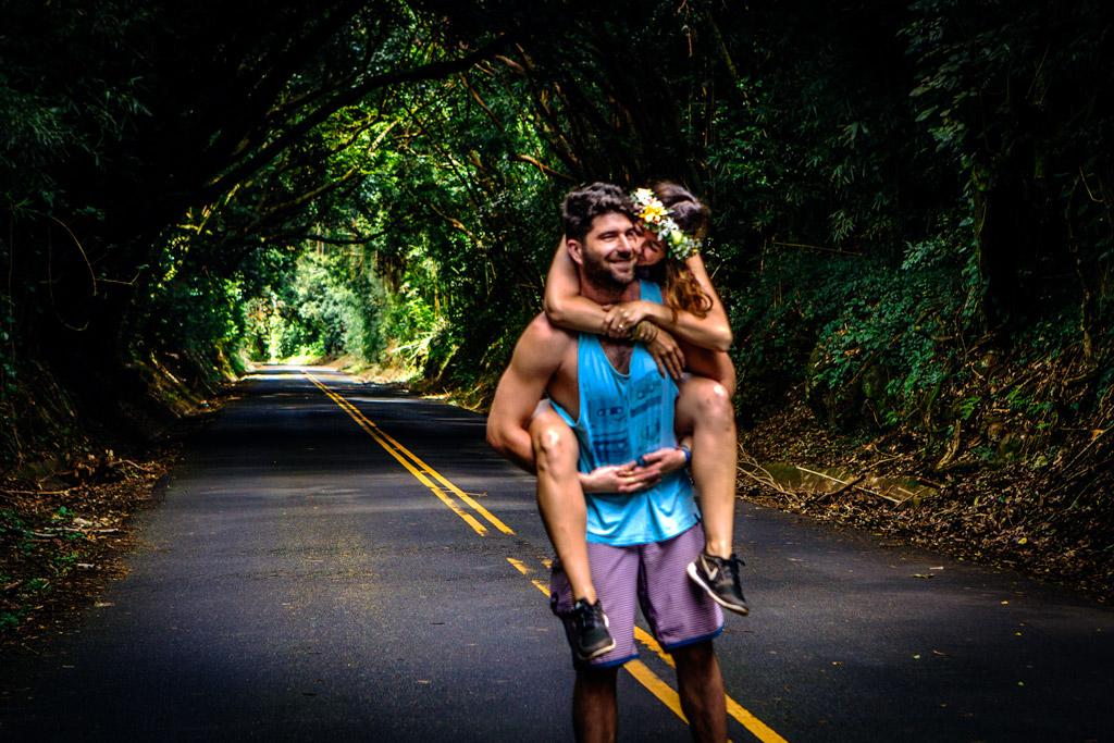 Scott & Megan Pali Highway, Hawaii