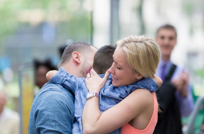 Image 8 of Elizabeth and Michael's Amazing Bryant Park Flash Mob Proposal