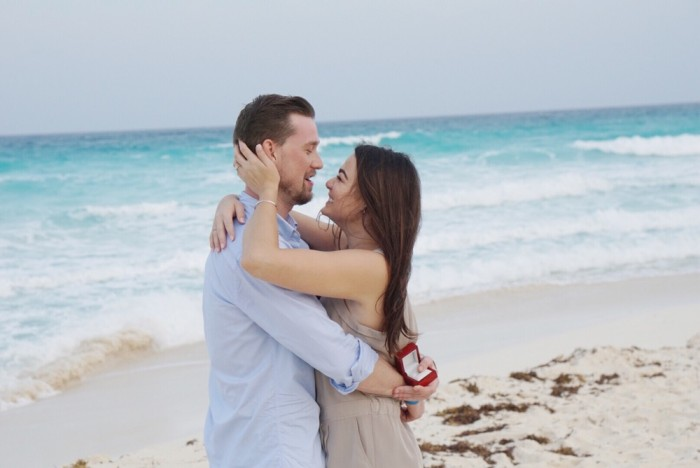 Best Marriage Proposal in Cancun Mexico