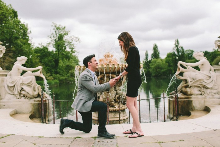 Marriage Proposal in Kensington Gardens(2)