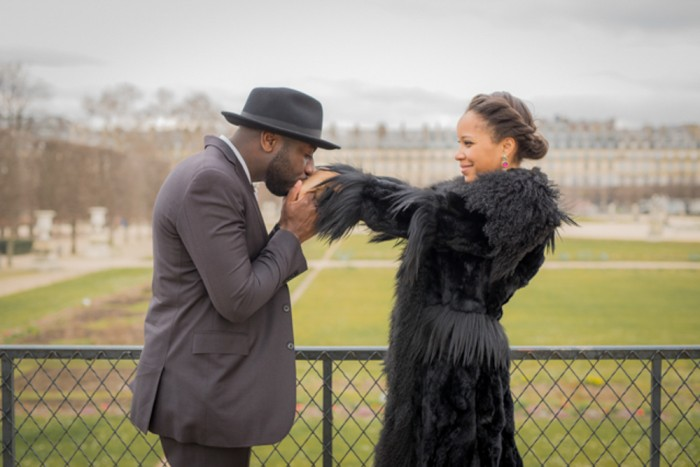Image 1 of Porsha and Terry's Proposal in Paris