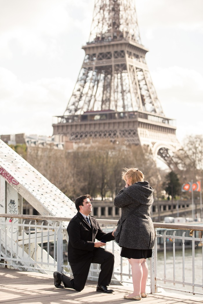 Image 4 of Davis and Amanda's Marriage Proposal in Paris