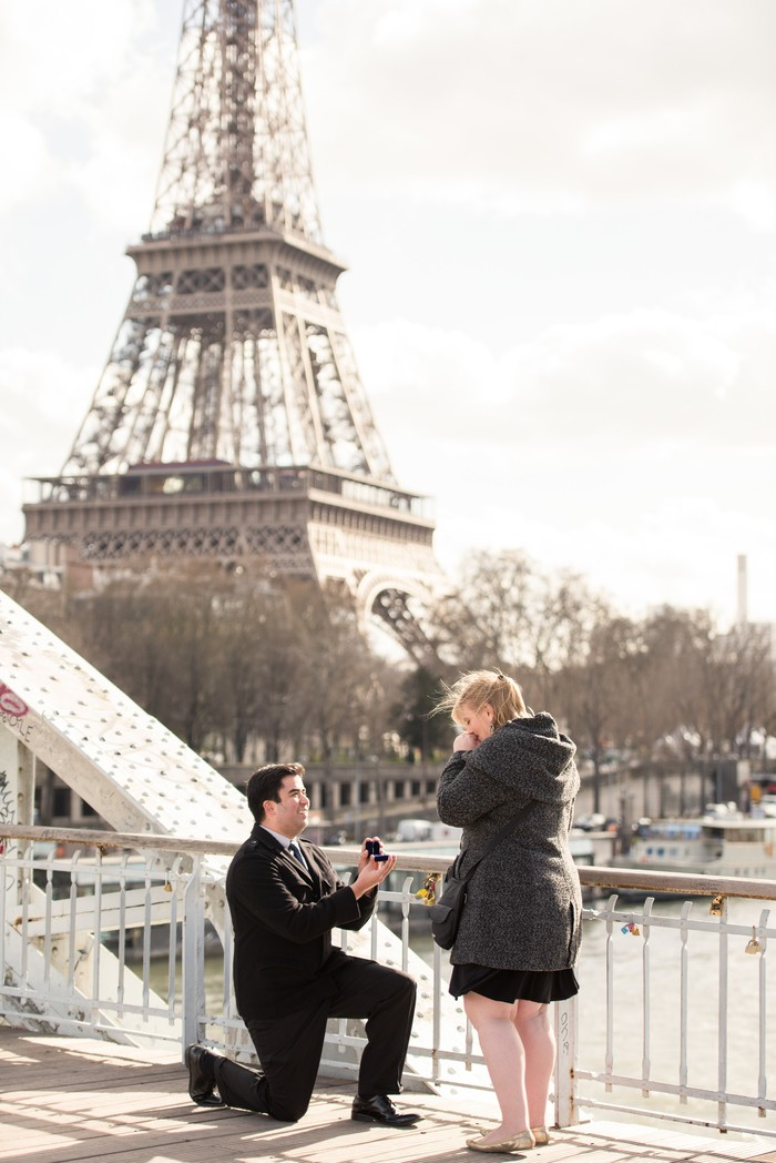 Image 5 of Davis and Amanda's Marriage Proposal in Paris