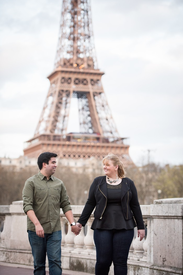 Image 1 of Davis and Amanda's Marriage Proposal in Paris