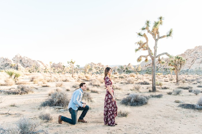 Surprise Marriage Proposal at Joshua Tree