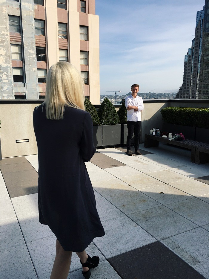 Wedding Proposal Ideas in The Kearny Rooftop in San Francisco