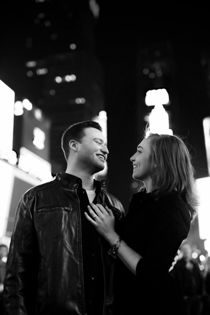 Engagement Photo Times Square