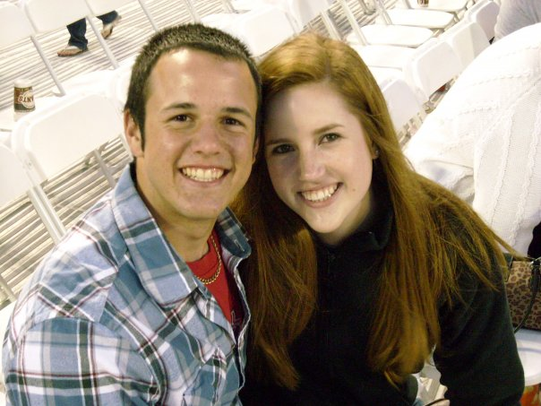 Our first concert in the summer of 2009. We saw Kenny Chesney.