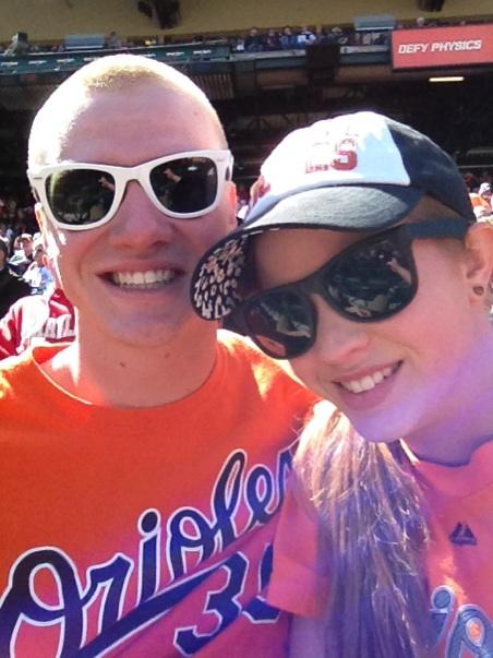 First Orioles Game
