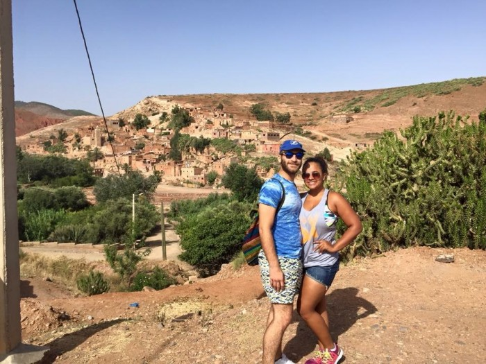 Summer 2015- Hiking up the Atlas Mountains in Morocco