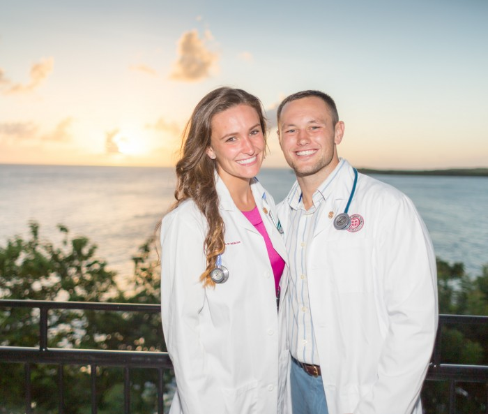 Phoebe and Tommy will be graduating medical school in 2018.