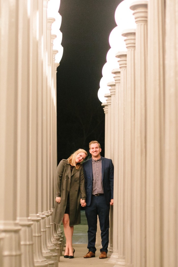Los Angeles marriage proposal at the LACMA (14)