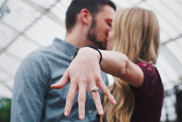 Marriage Proposal at phipps conservatory and botanical gardens_1