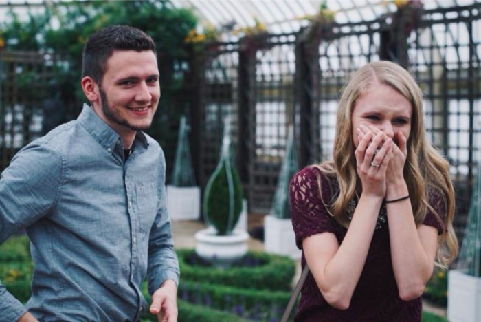 Marriage Proposal at phipps conservatory and botanical gardens_3