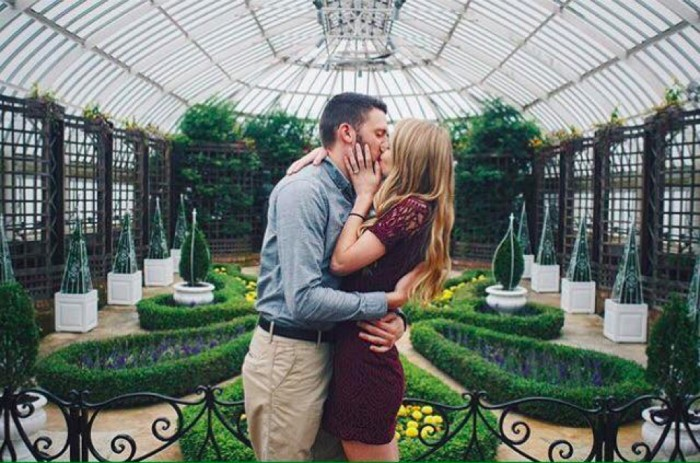Marriage Proposal at phipps conservatory and botanical gardens_4
