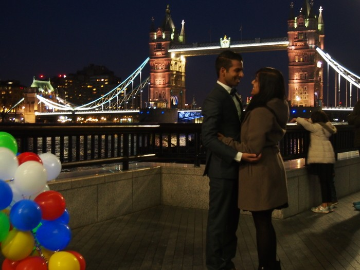 Where to Propose in Tower Bridge - London