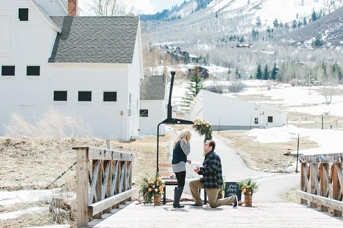 Image 6 of Jordan and Logan's Park City Marriage Proposal