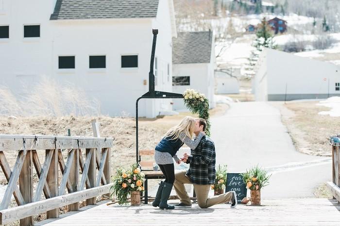 Image 5 of Jordan and Logan's Park City Marriage Proposal