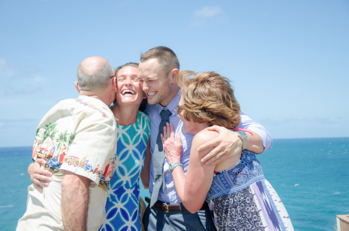 I'm so glad my parents were there to witness the entire proposal! It was so special to have them there with me.