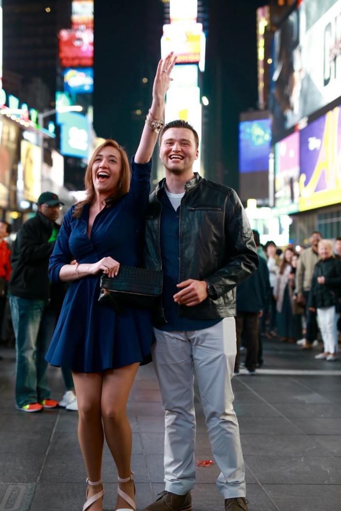 Times Square Marriage Proposal Ideas