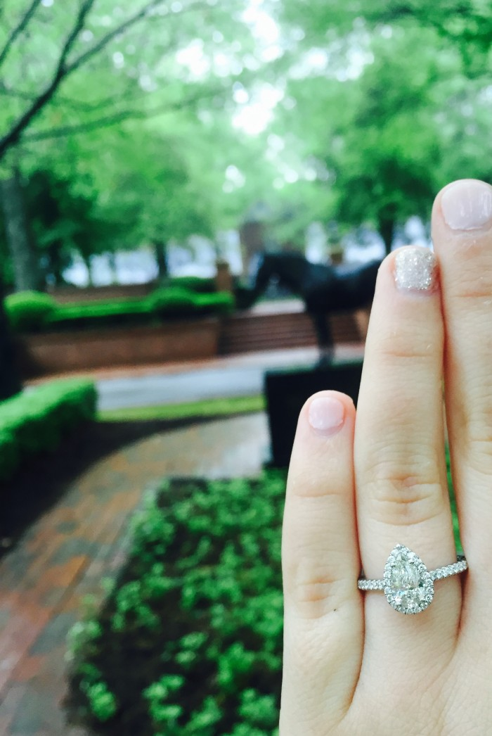 kara kingsley engagement ring